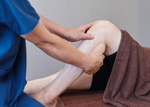 つらい足の疲れの改善も。